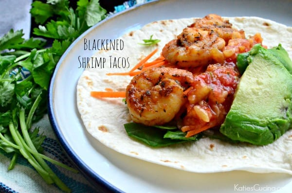 Blackened Shrimp Tacos #TacoWeek