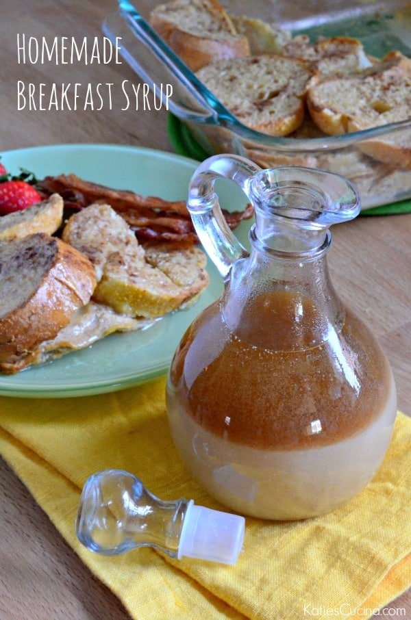 Homemade Breakfast Syrup made in minutes!