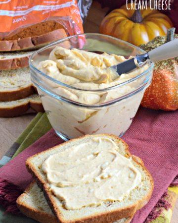Whipped Pumpkin Cream Cheese