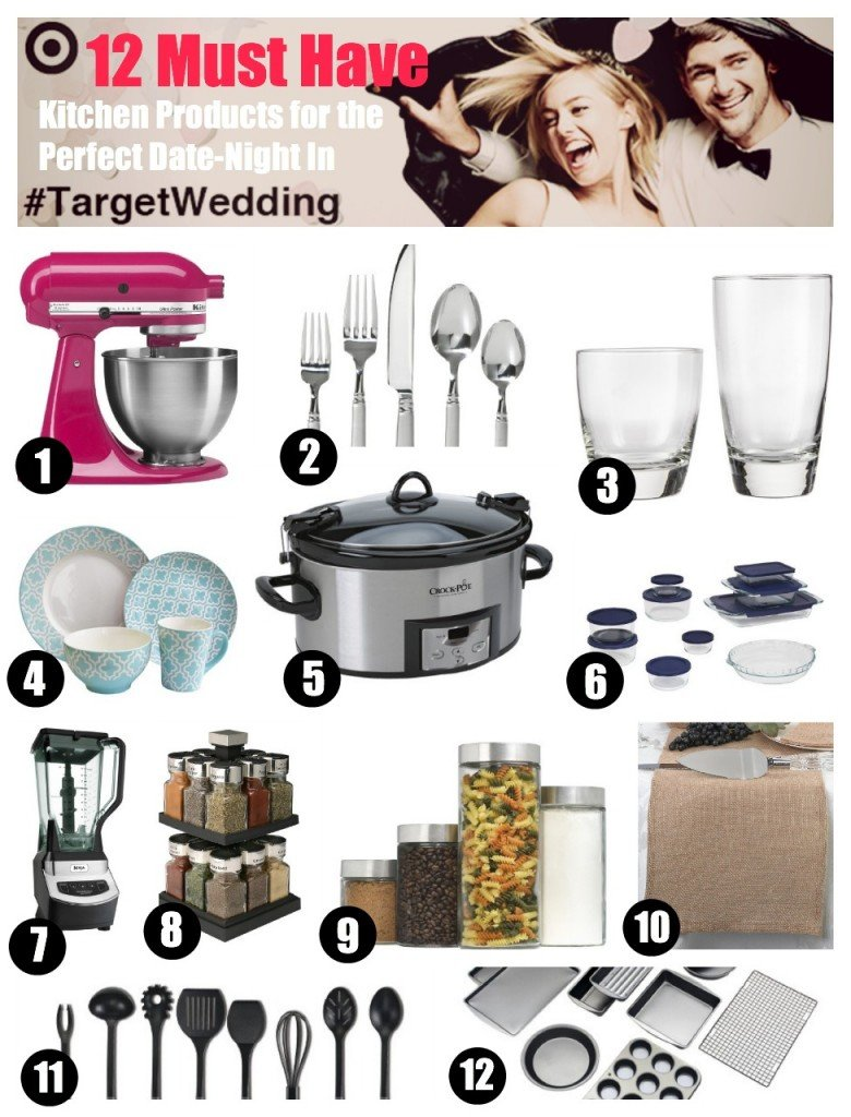 12 Must Have Kitchen Products for the Perfect Date-Night In