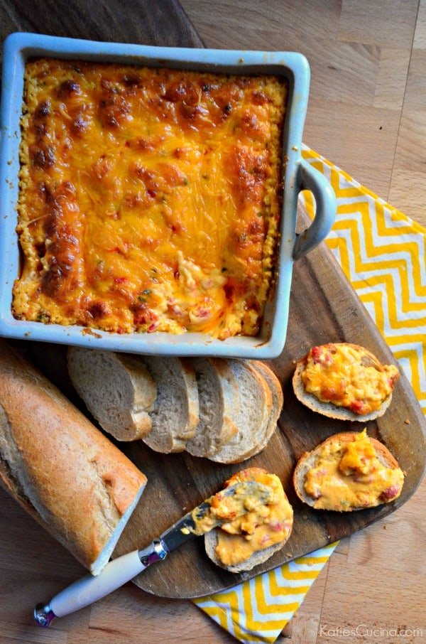 Hot Pimento Cheese Dip + Target eGift Card Giveaway