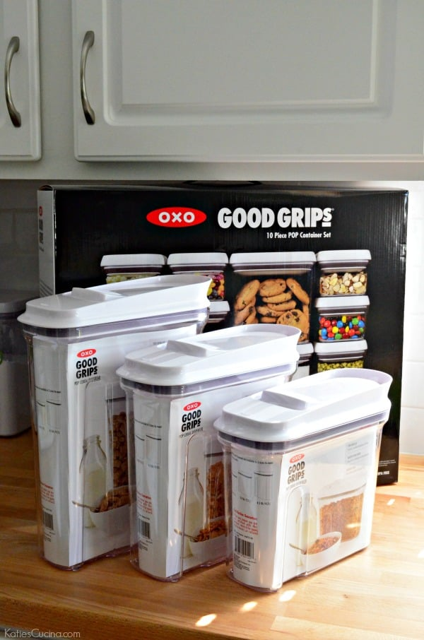 OXO Pantry Organization #POPtober