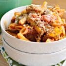 One Pot Sausage & Peppers Pasta Skillet 1-1