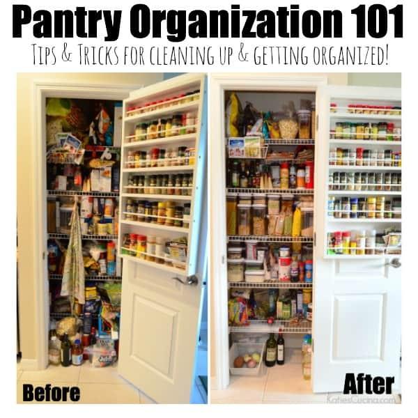 Pantry Organization 101 #POPtober