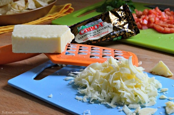 Shredded Cabot Cheese