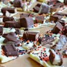 White Chocolate Halloween Candy Bark
