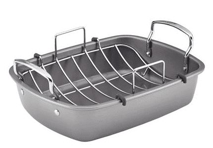 17-inch by 13-inch Roaster with U-Rack