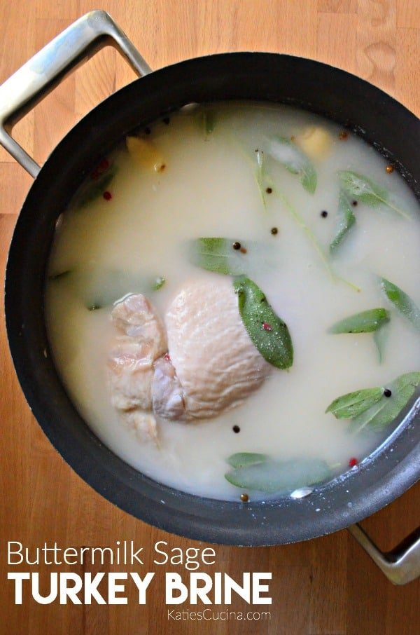next turkey with this easy recipe for Buttermilk Sage Turkey Brine ...