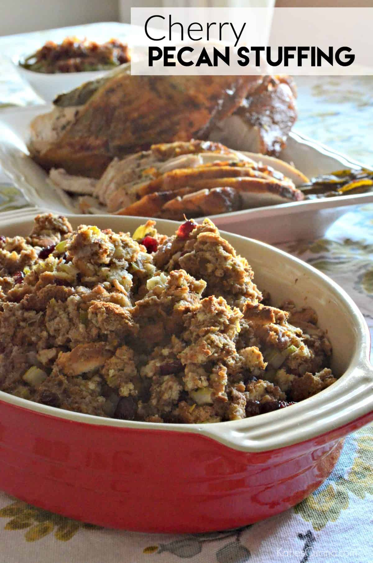 up your go-to recipe and try my recipe for Cherry Pecan Stuffing ...