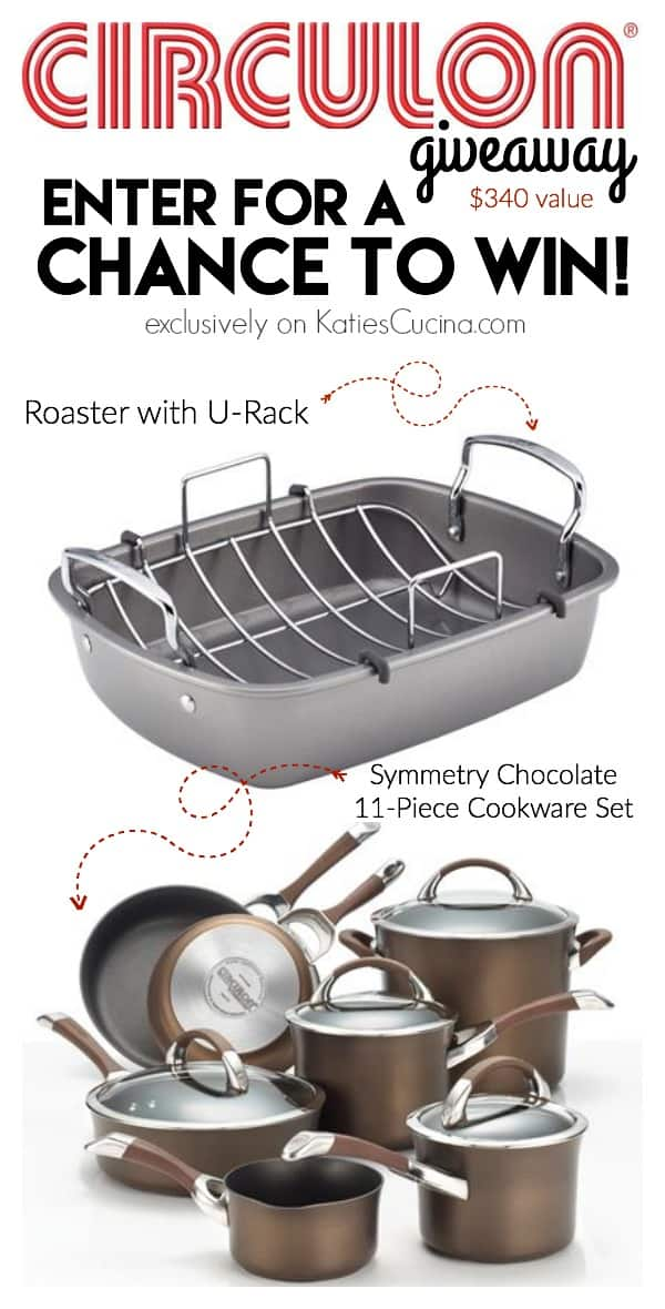 Enter for a chance to win $340 @Circulon Cookware giveaway #turkeytalk