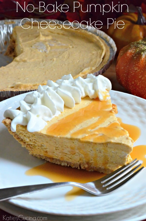 No-Bake Pumpkin Cheesecake Pie