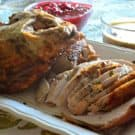 Oven Roasted Sage Turkey with Brown Butter Sage Gravy 1