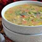 Potato Corn Chowder with Turkey