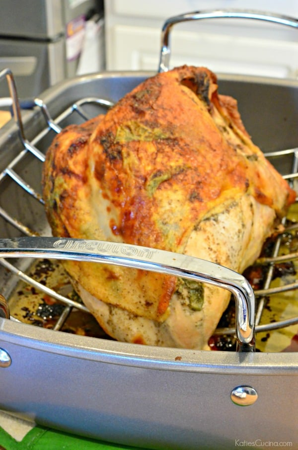 Oven Roasted Sage Turkey with Brown Butter Sage Gravy