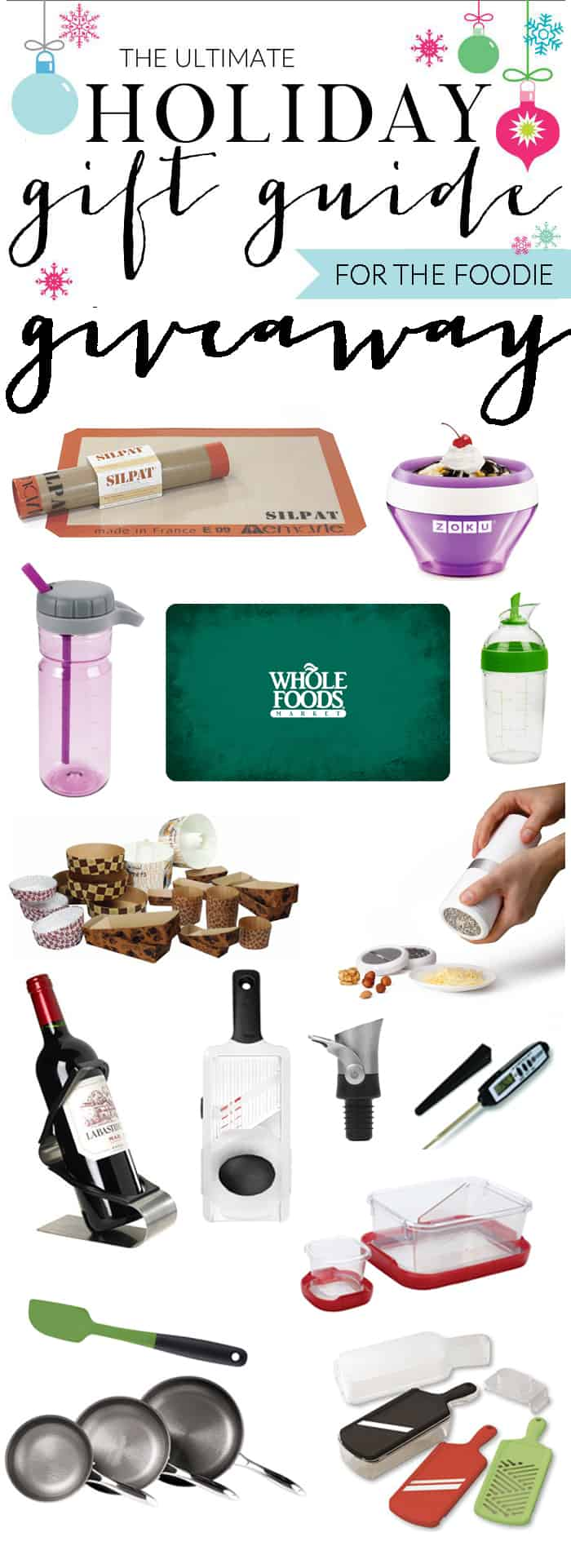 foodie ultimate gift guide giveaway