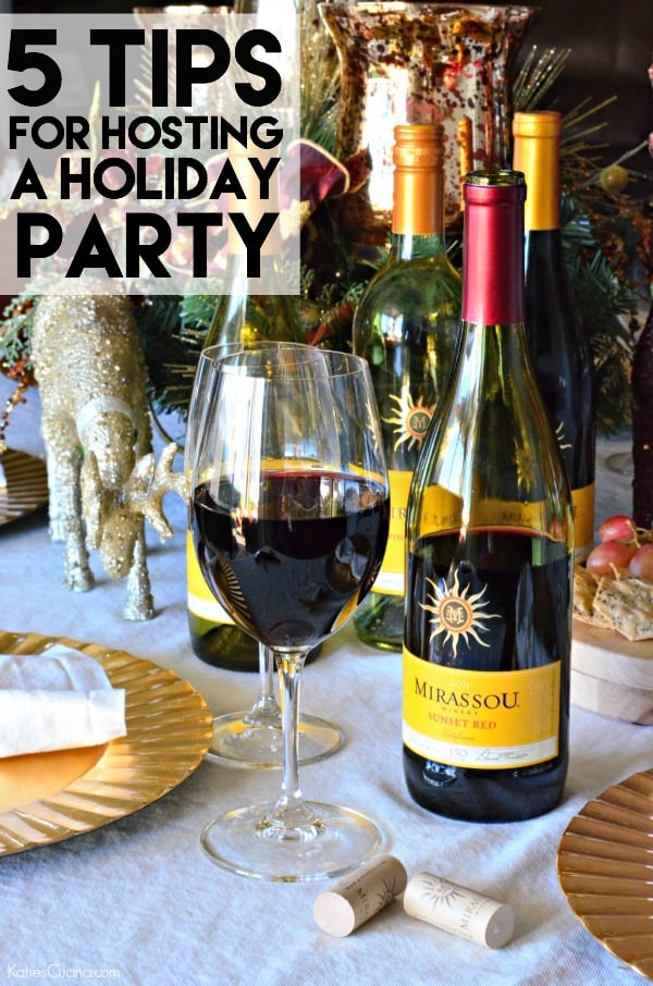 5 Tips for Hosting a Holiday Party