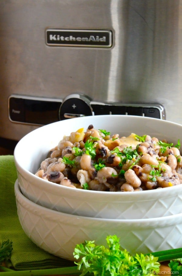 Slow Cooker Black Eye Peas 2