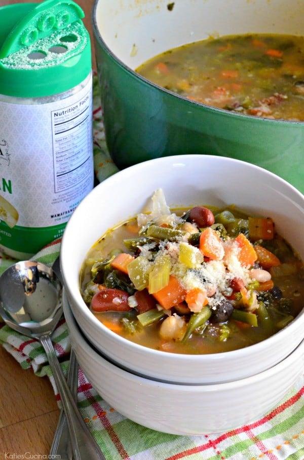 3 Bean Vegetable Soup 1