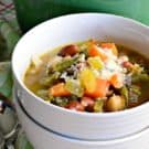 3 Bean Vegetable Soup