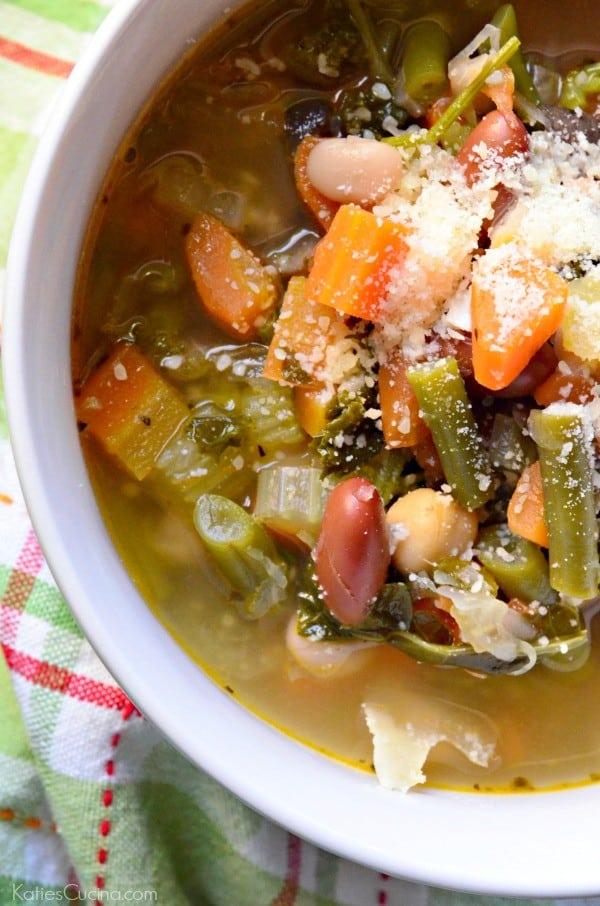3 Bean Vegetable Soup 3