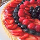 Berry Tart with Lime Glaze 1