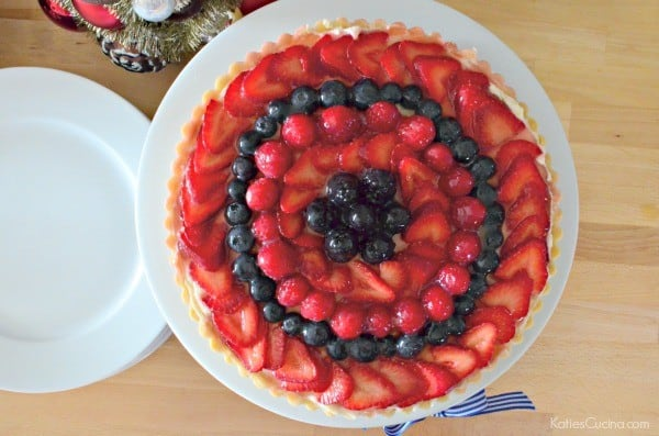 Berry Tart with Lime Glaze 2