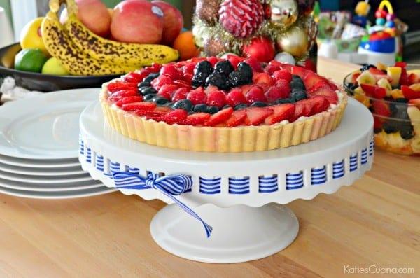 Berry Tart with Lime Glaze 3