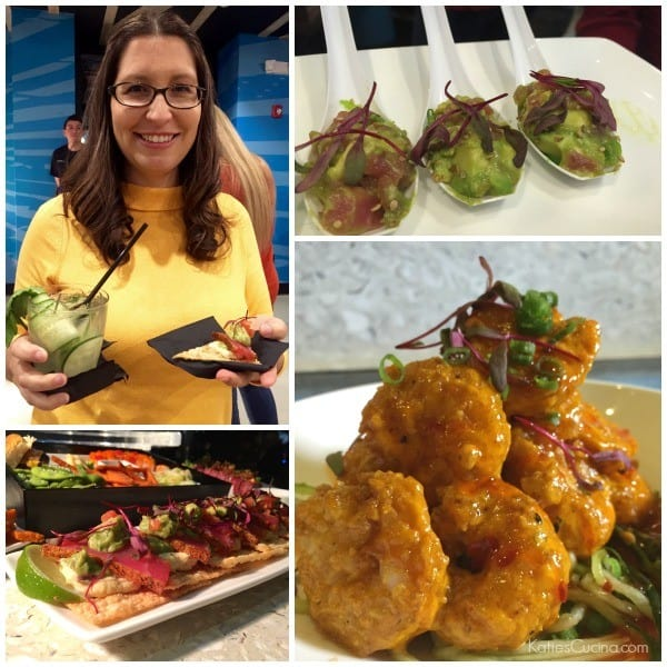 Cowfish Appetizers