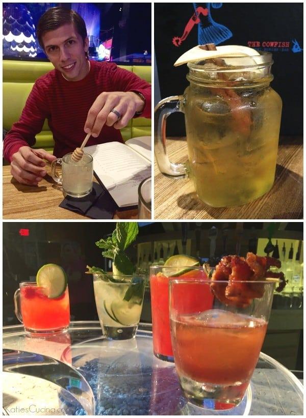 Drinks at Cowfish Universal Orlando