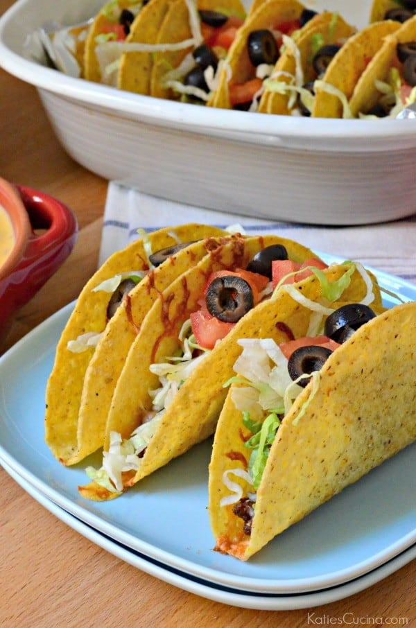 Ground Beef and Chorizo Baked Tacos 3