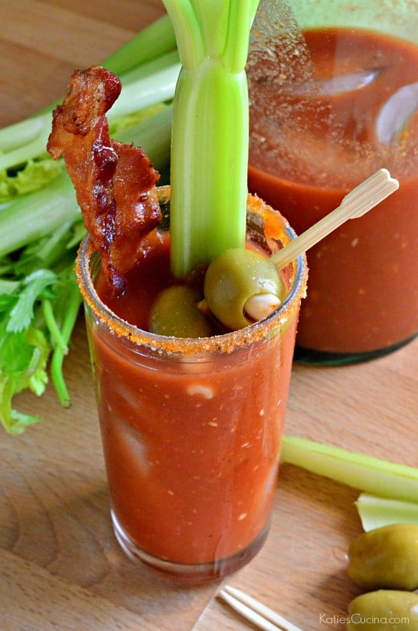 Spicy Bacon Blood Mary's 1
