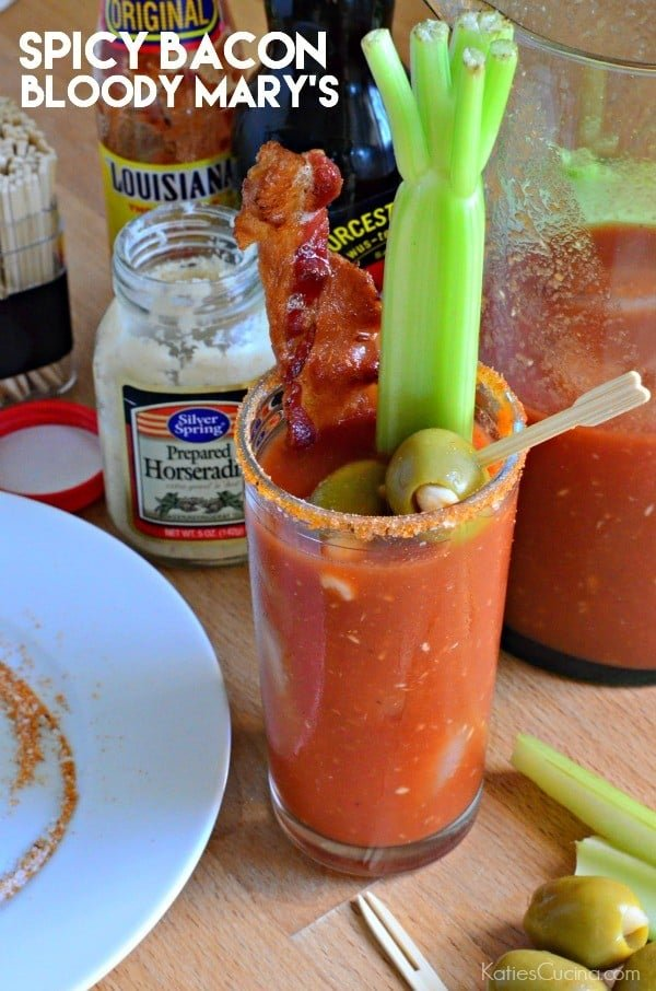Spicy Bacon Blood Mary's