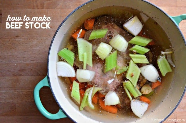 how to make beef stock