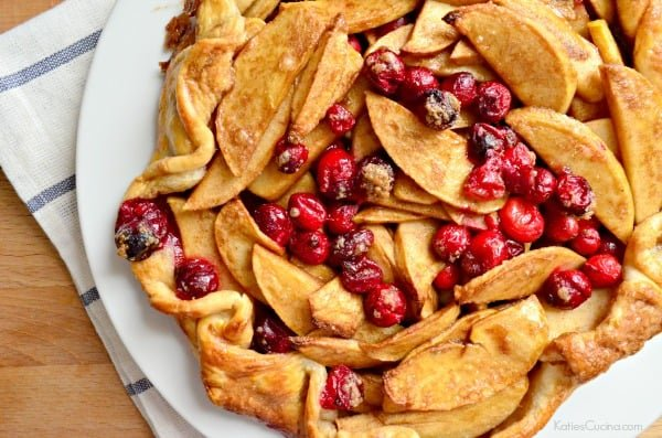 Cranberry Apple Crostata 1