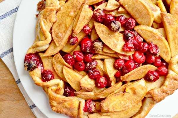 Cranberry Apple Crostata 2
