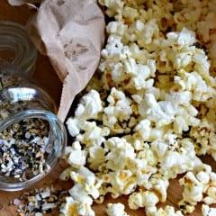 Everything Bagel Flavored Popcorn