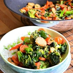 Kale Carrot and Broccoli Stir-Fry 2