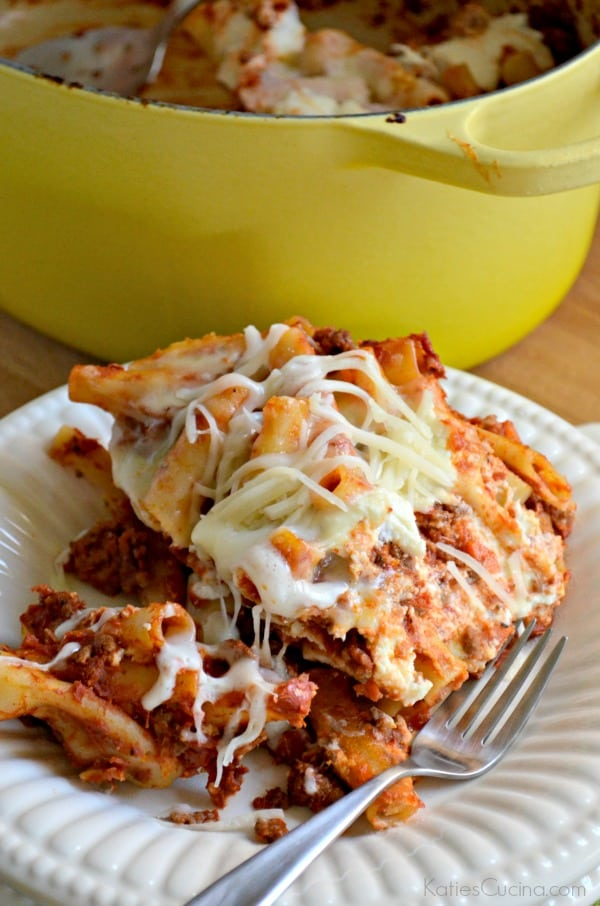 One Pot Baked Meat Ziti 1-1