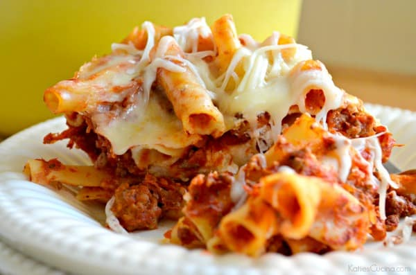 One Pot Baked Meat Ziti 3-3