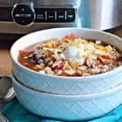 Slow Cooker Chicken Enchillada Soup square
