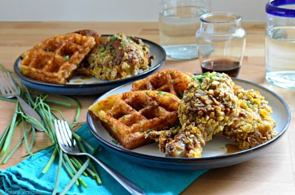 Buttermilk Fried Chicken And Sweet Potato Waffles Recipes ...