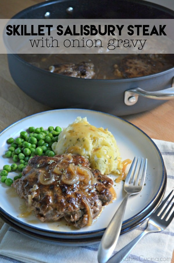Skillet Salisbury Steak with Onion Gravy