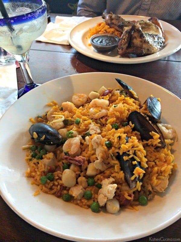 Bahama Breeze Seafood Paella