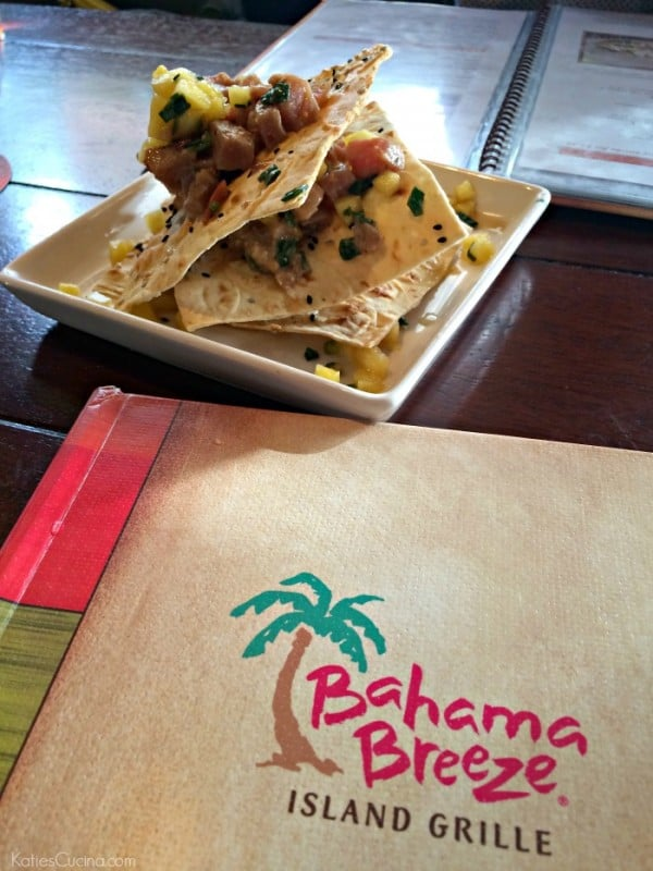 Bahama Breeze Tuna Stack