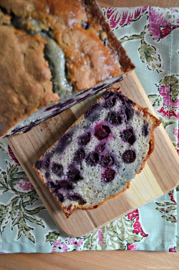 Blueberry Quick Bread