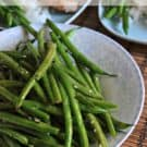 Honey Sesame Green Beans