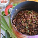 Chunky Three-Bean Beef Chili