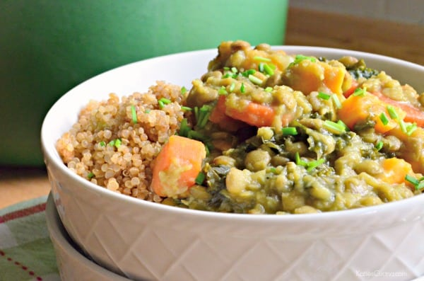 Even meat eaters love this Lentil Stew!