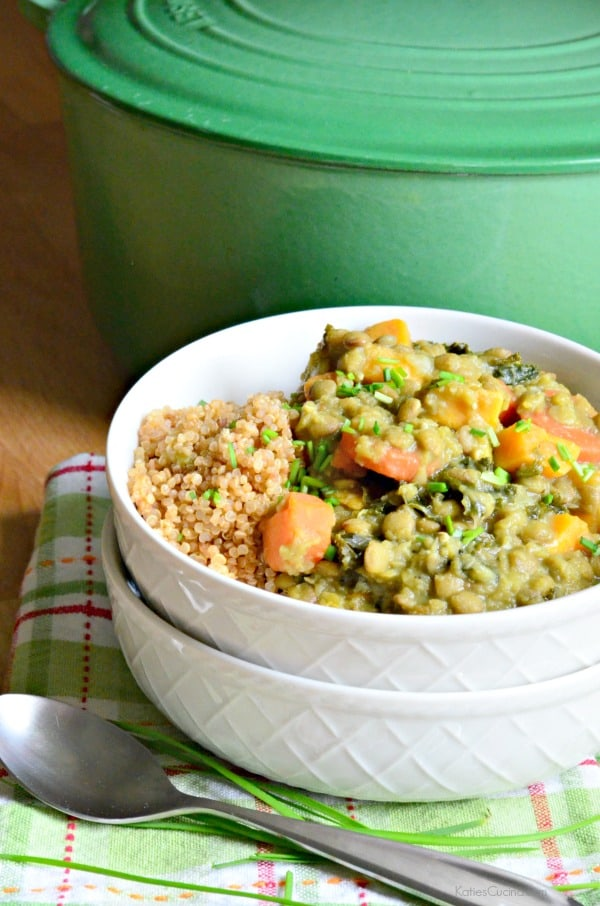 The best recipe for lentil stew!