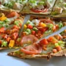 Vegetable Pesto Flatbread